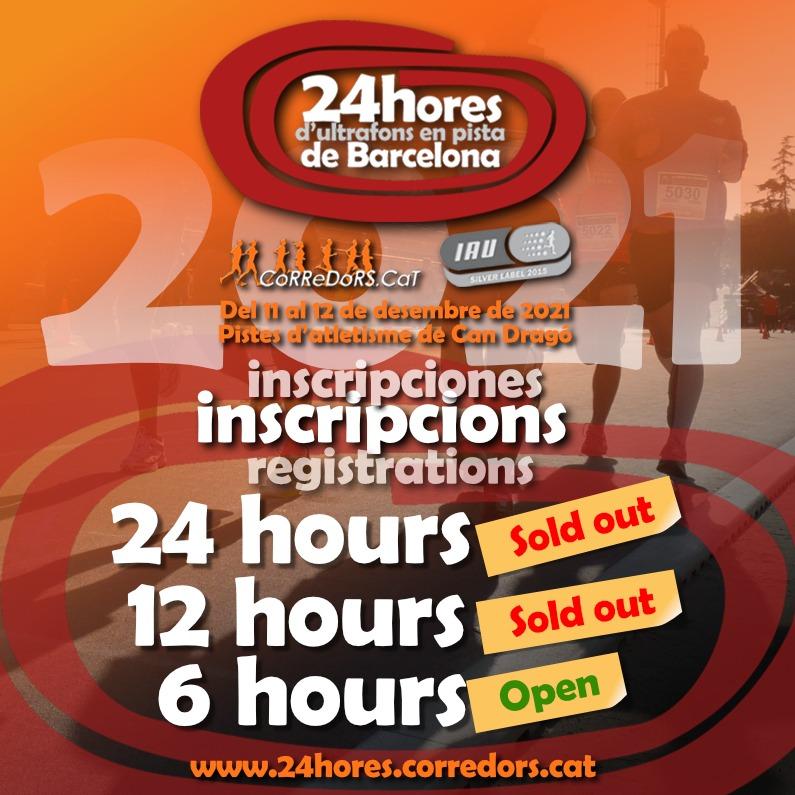 24 hores d'ultrafons en pista de Barcelona