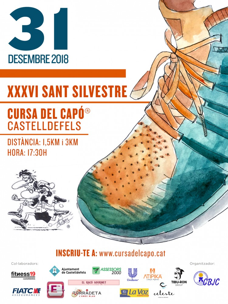 SANT SILVESTRE DE CASTELLDEFELS - Cursa del Capó